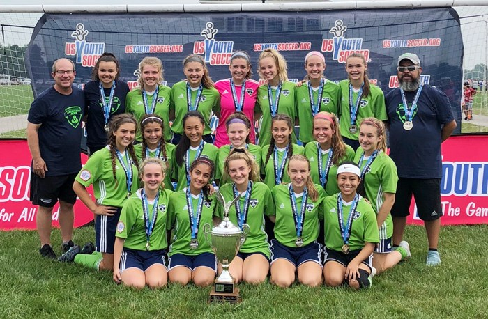Arlington Aces U15 Girls WIN Championship